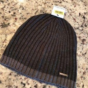 Calvin Klein Dark and Light Grey Beanie Winter Hat